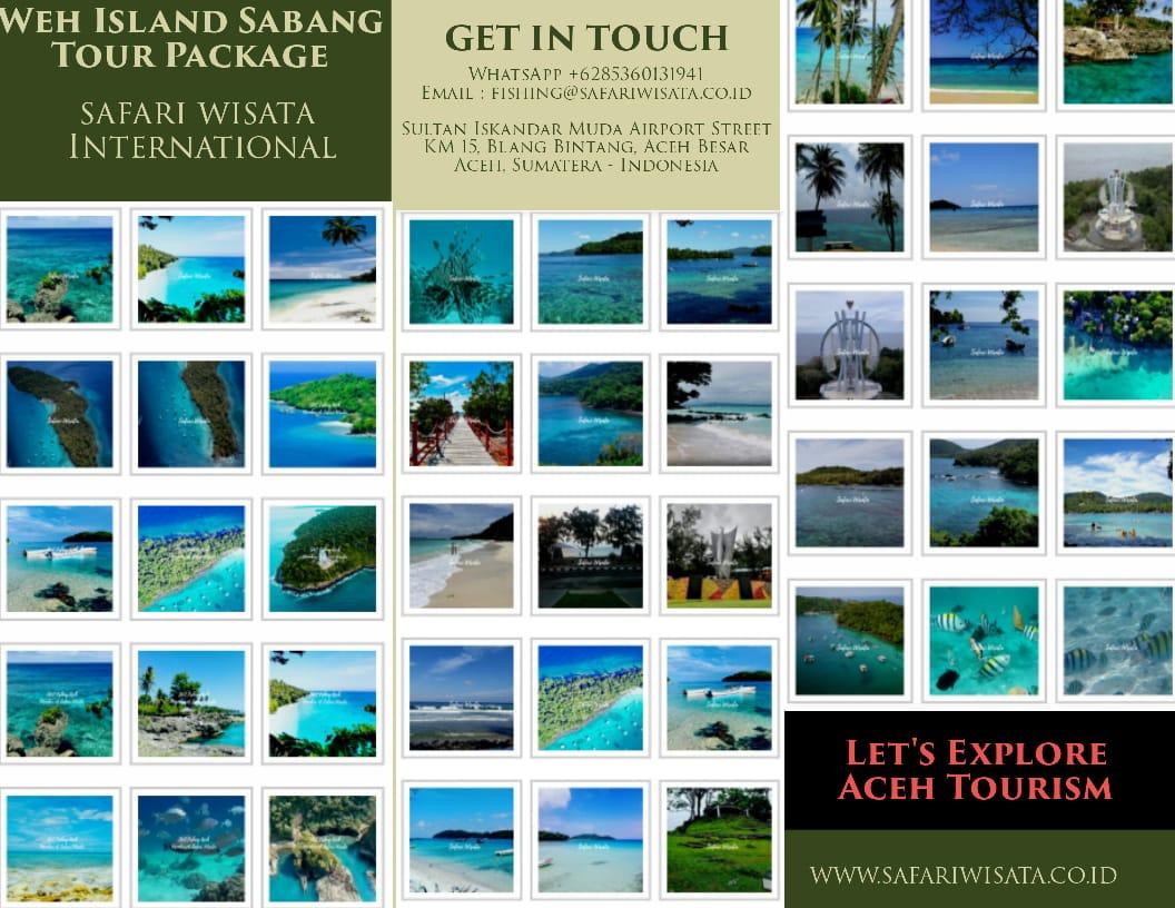 Pakej Percutian ke Sabang 4 Hari 3 Malam – Pakej Melancong ke Aceh dan Pulau Weh selama 4 Hari 3 Malam