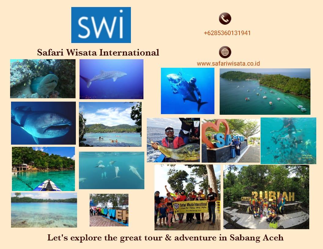 Pakej Percutian ke Pulau Sabang Acheh - Ground Package 5 Hari 4 Malam